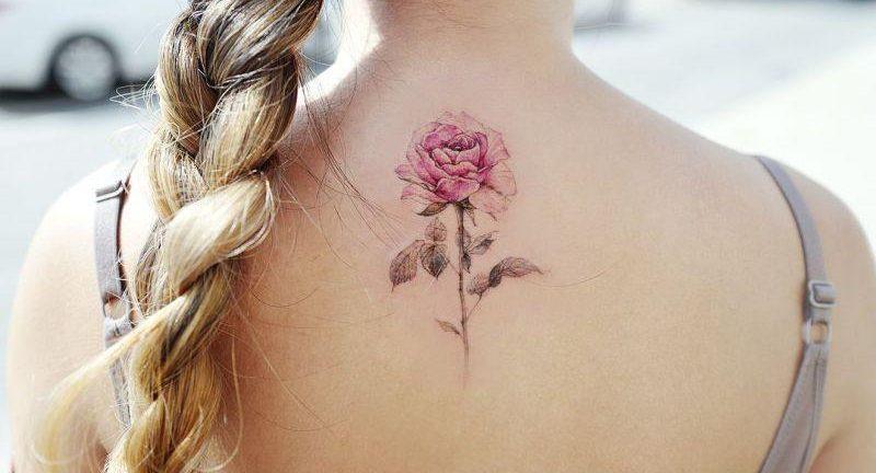 Значение татуировки роза