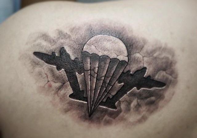 Фото армейских татуировок ВДВ