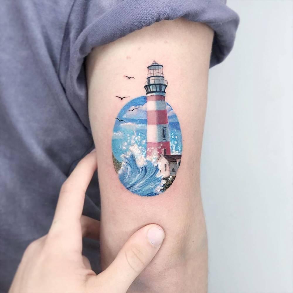 Значение морских татуировок