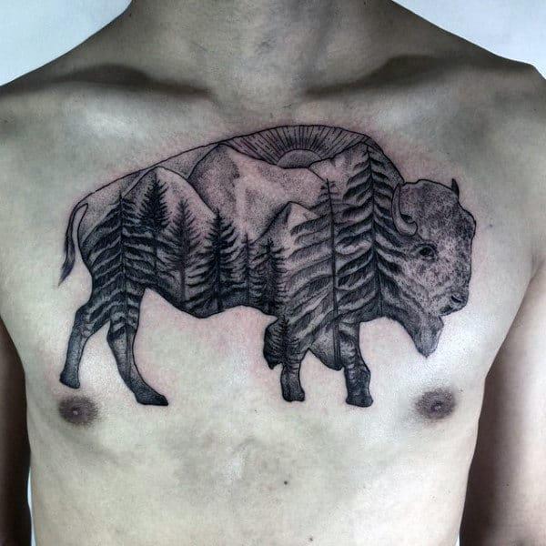 Значение татуировки зубр