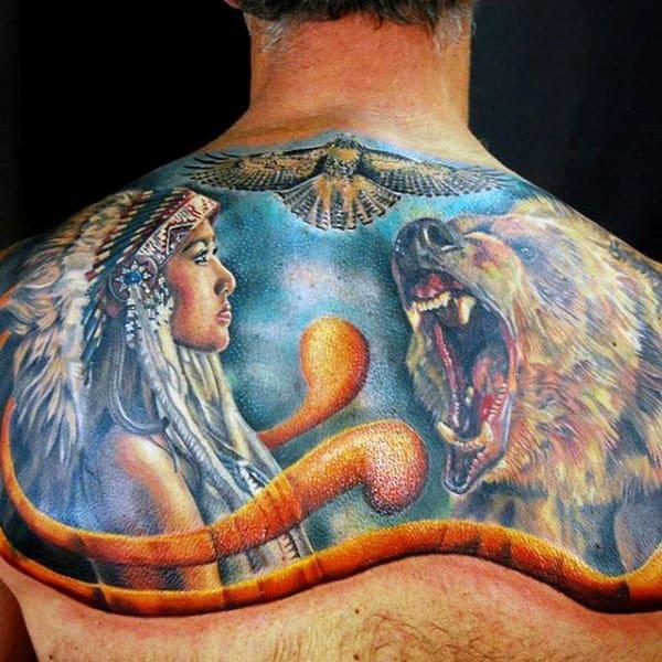 Татуировка тотем