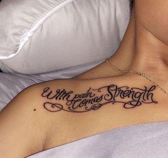 Татуировки философские надписи