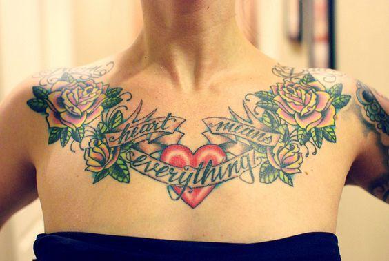 Фотографии татуировки лента с надписью