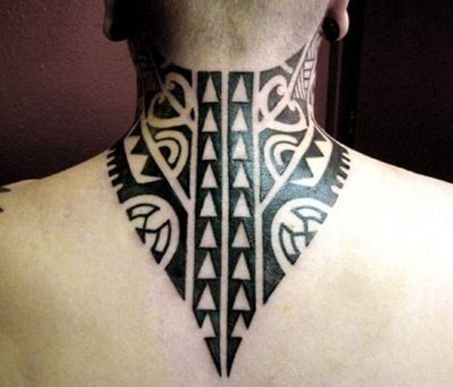 тату Фар Край 3 полинезийские татуировки на шее как воротник