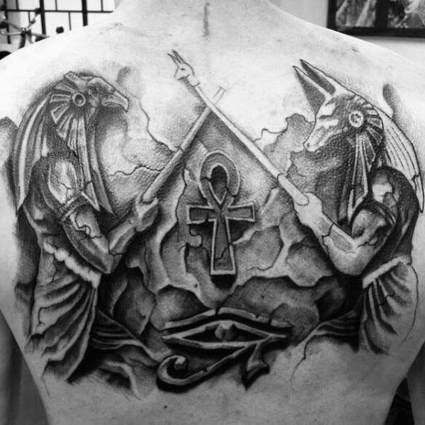 Значение татуировки крест Анкх