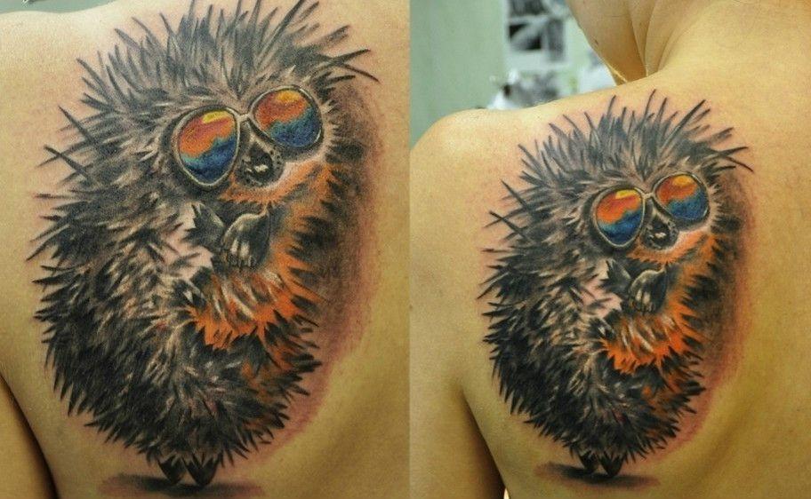 Значение татуировки еж