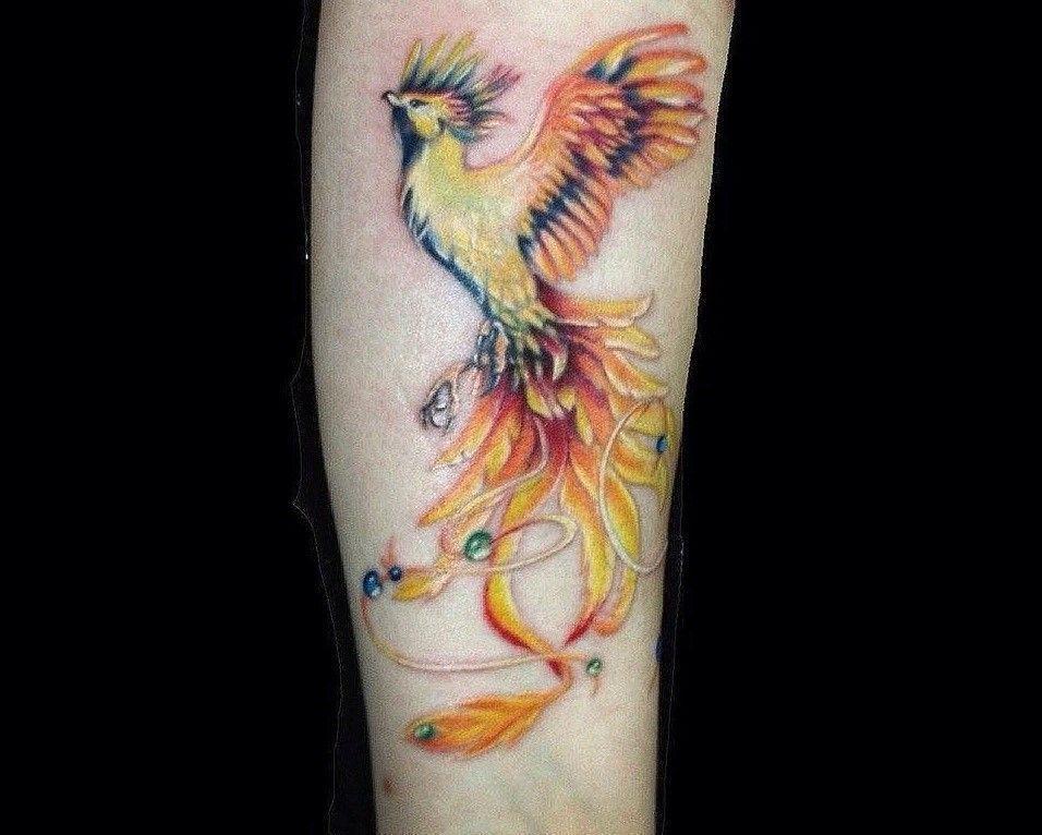 Что означает тату жар птица?