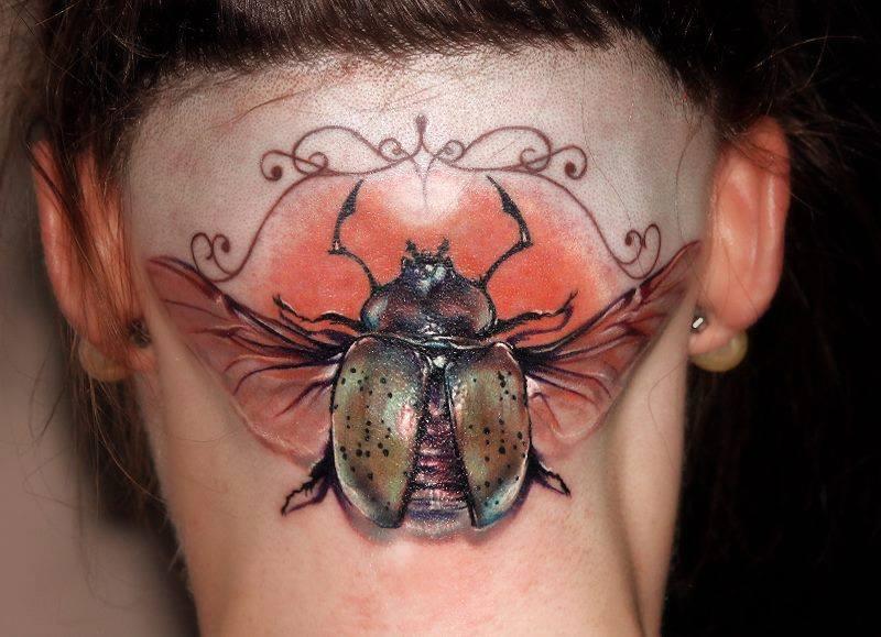 Тату с насекомыми