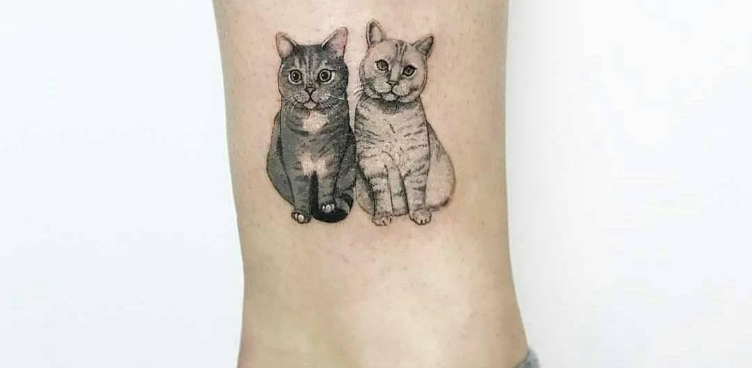 Значение татуировки кошка для девушек