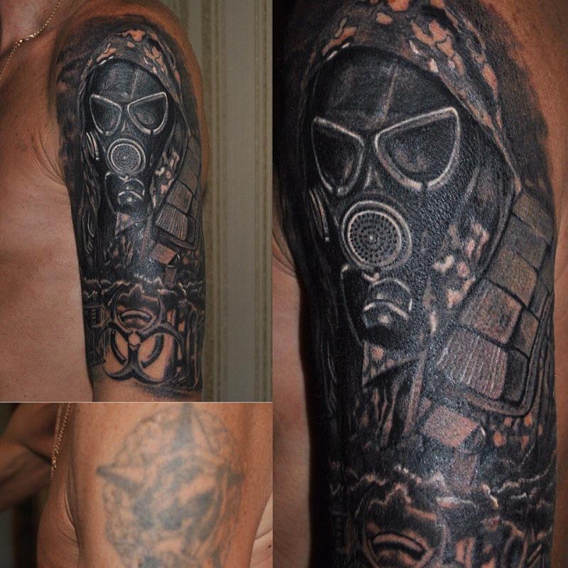 Фотографии татуировок сталкер на руке