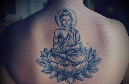 Сила и притягательность религиозной тату Будда