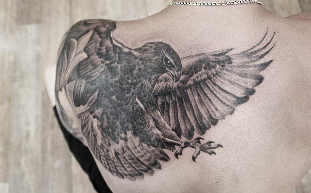 Значение татуировки орел