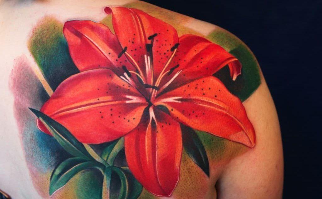 Значение татуировки лилия