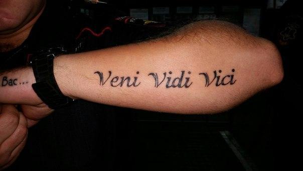 Фотографии татуировок