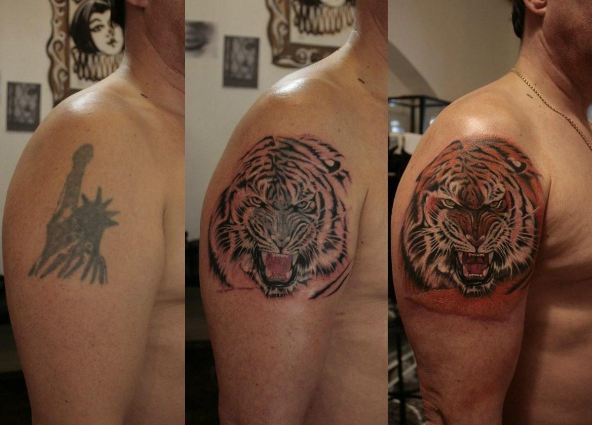 tattoo correction 3 steps