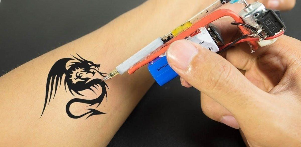 How to get a tattoo at home2