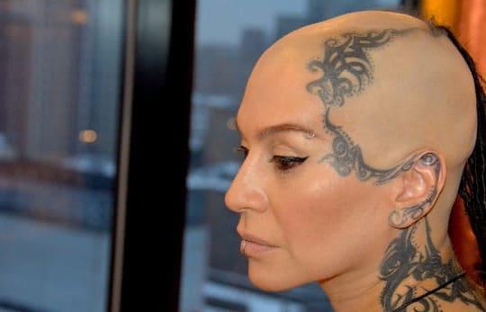 Что означают татуировки Наргиз Зейналовой?