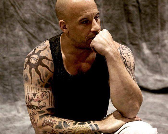 Татуировки Вина Дизеля на руке