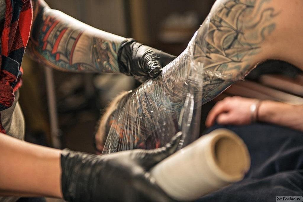 Сколько заживает татуировка?